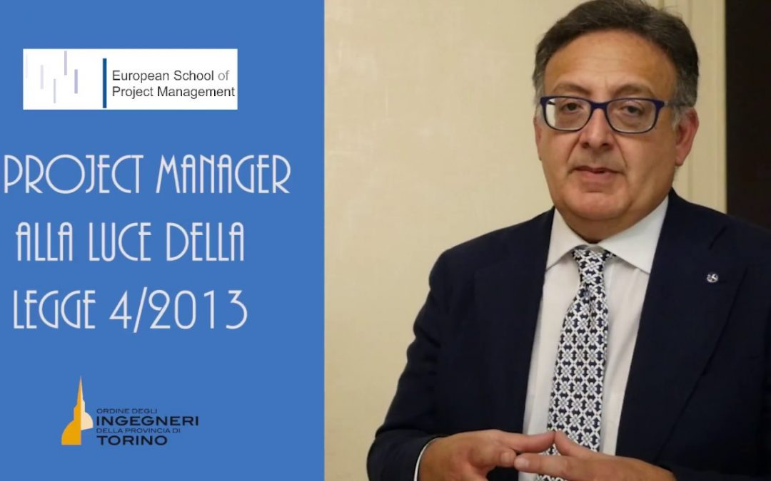 Figura del Project manager in base alla legge 4 del 2013